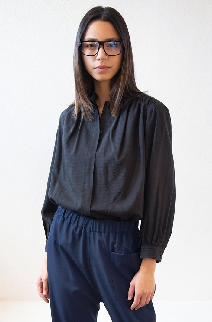 Christian Wijnants - TUGELA blouse, black