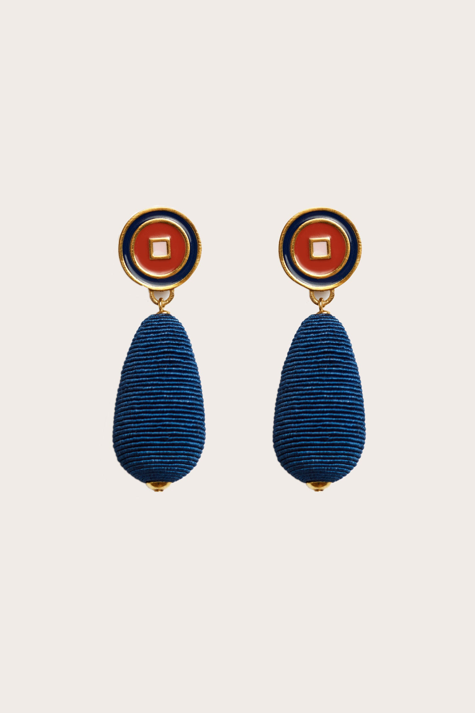 Lizzie Fortunato - Breton Stripe Earrings