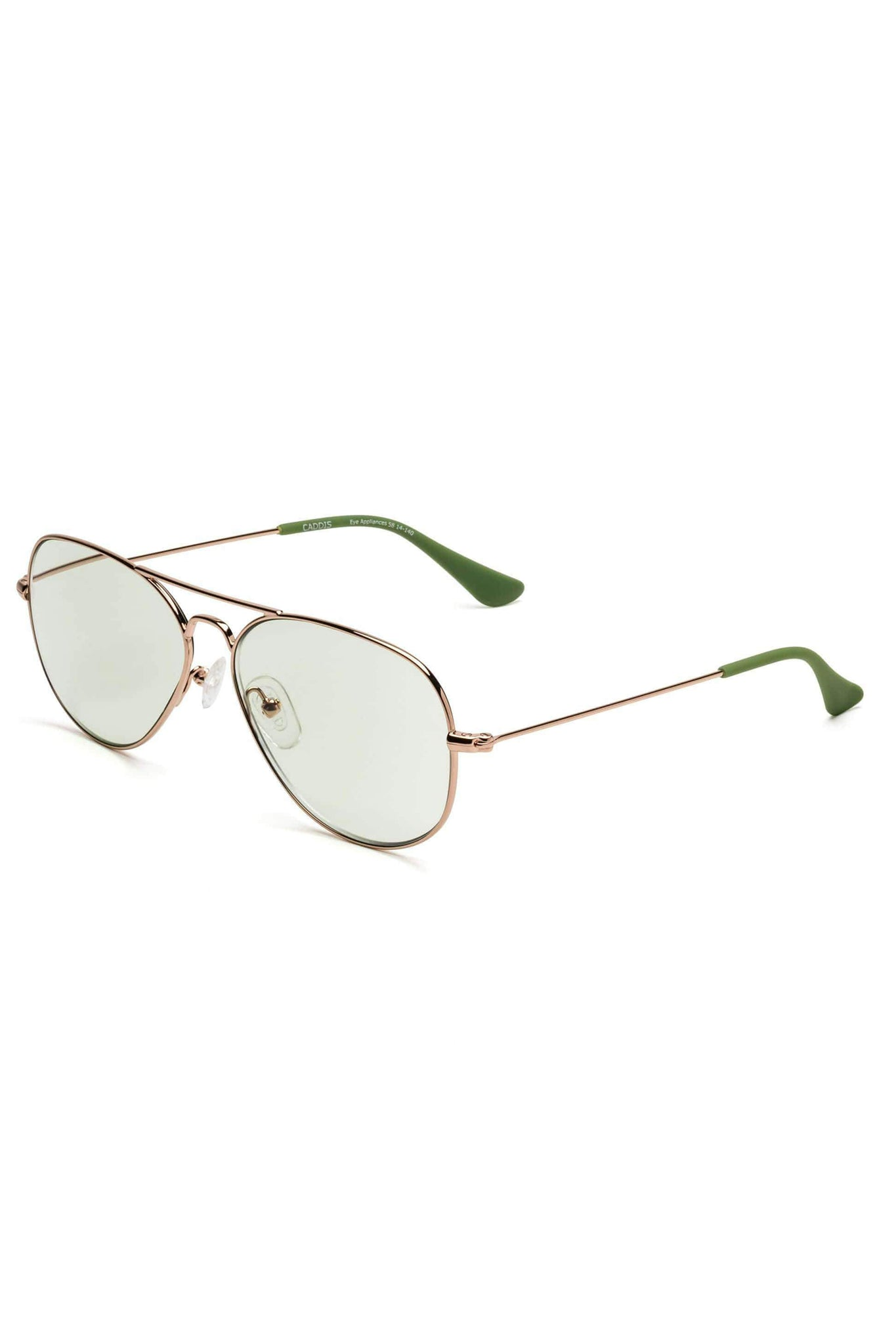 CADDIS - MABUHAY reader glasses, polished rose gold