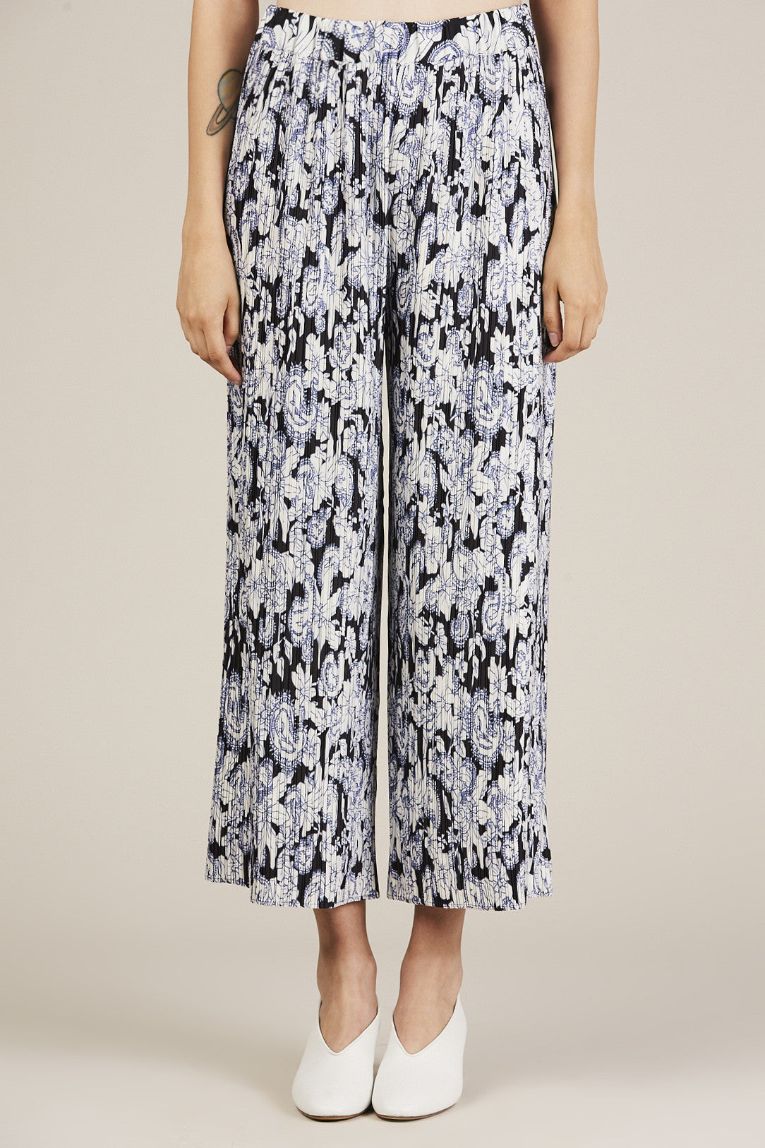 Pila Pleated Trouser, Tamil - Christian Wijnants