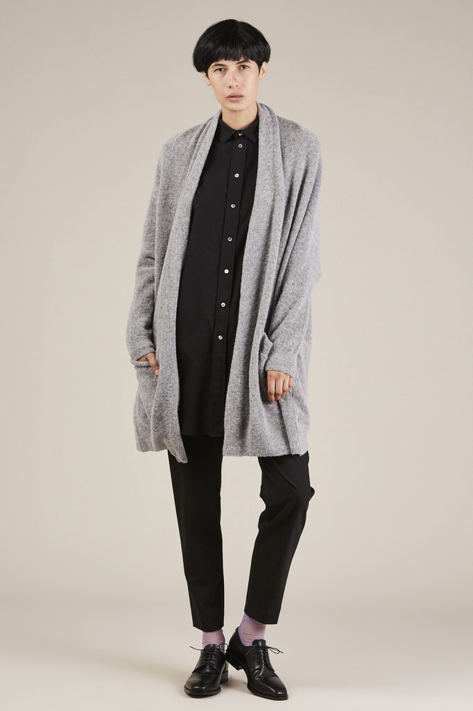 Korai Sweater Cardigan, Grey