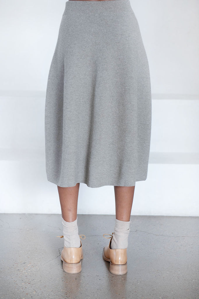 Christian Wijnants - KIRANI wool skirt, tundra