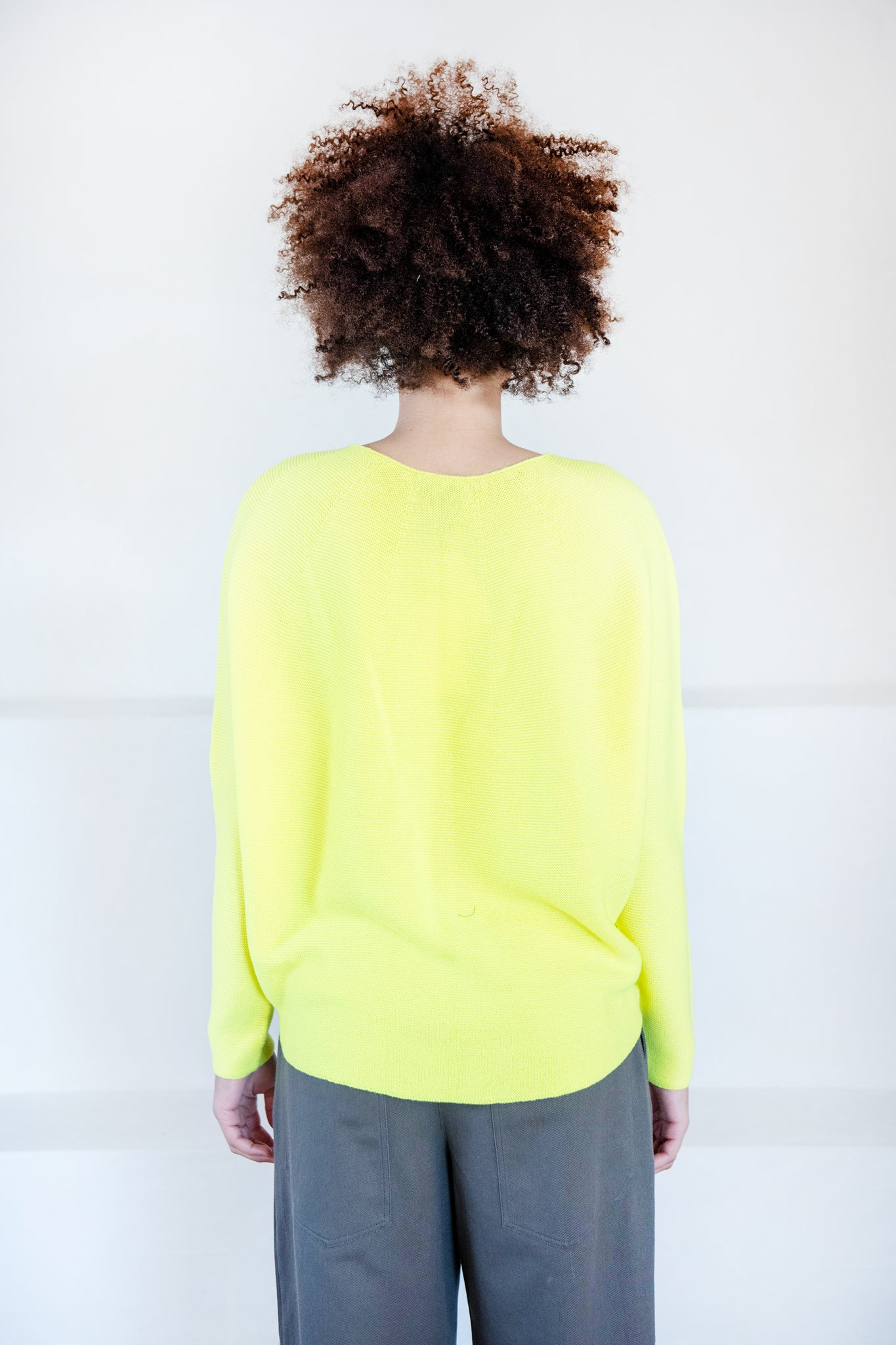 Christian Wijnants - KOPA wool sweater, yellow