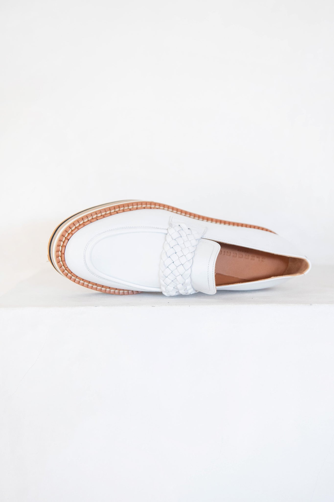 Robert Clergerie - baldie loafer, white