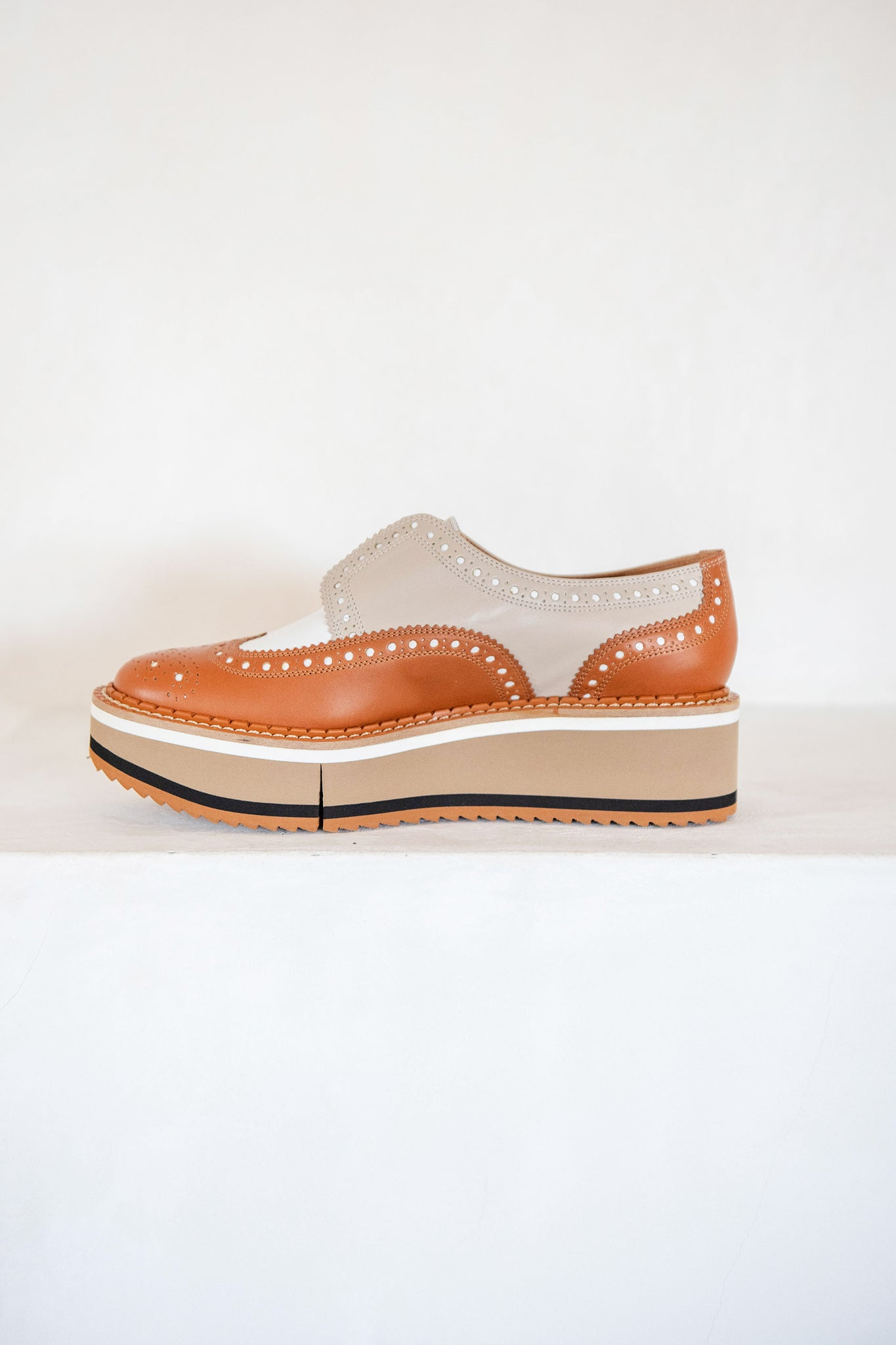 Clergerie - DERBIES BECKA oxford, CAMEL