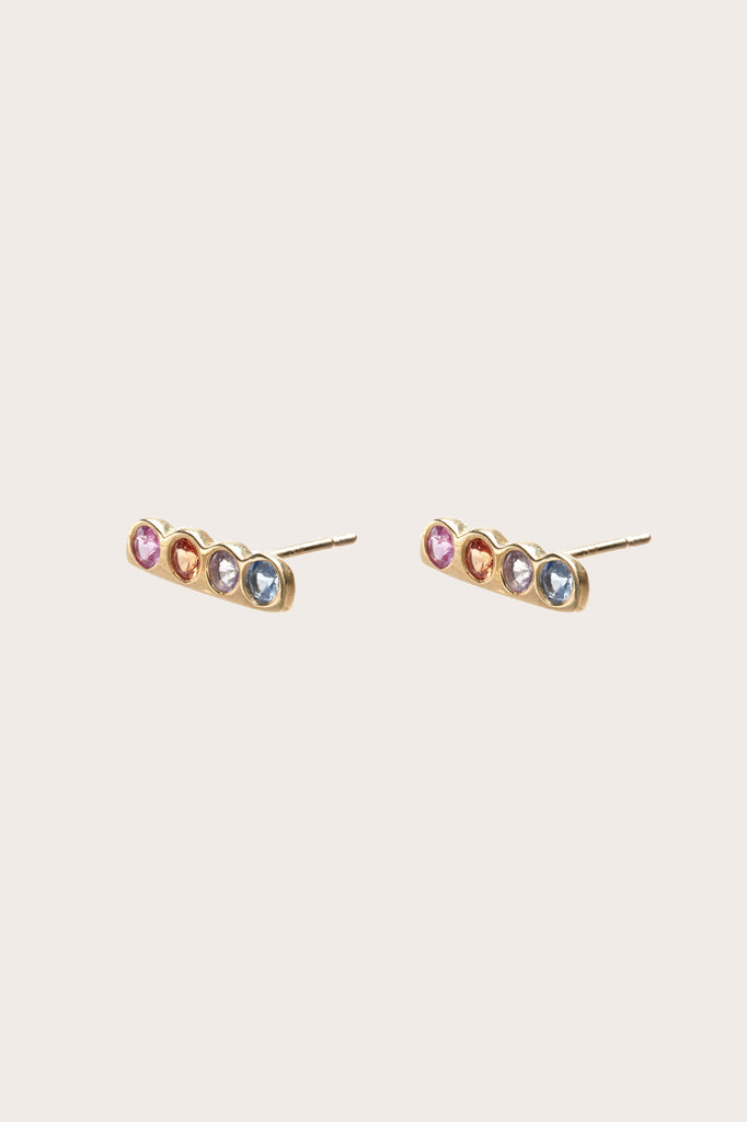 Cloud Studs, Gold