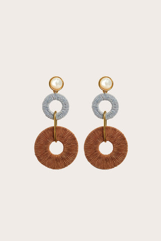 Corsica Column Earrings
