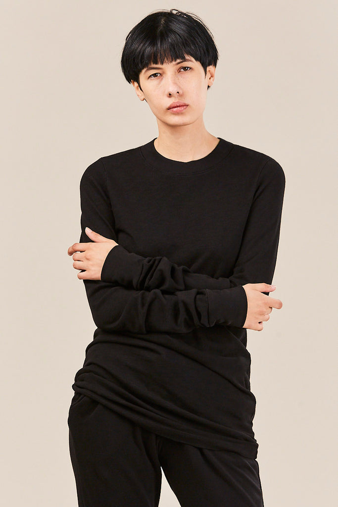 Cotton Citizen - L/S Tokyo Mini Dress, Jet Black