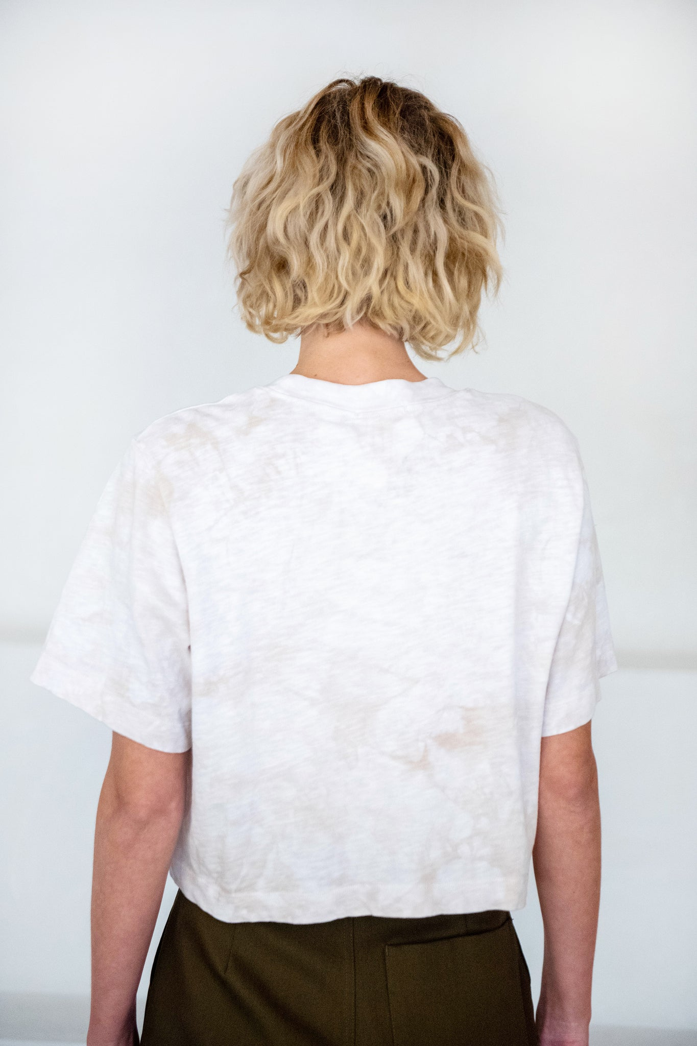 Cotton Citizen - Tokyo tee, pearl crystal