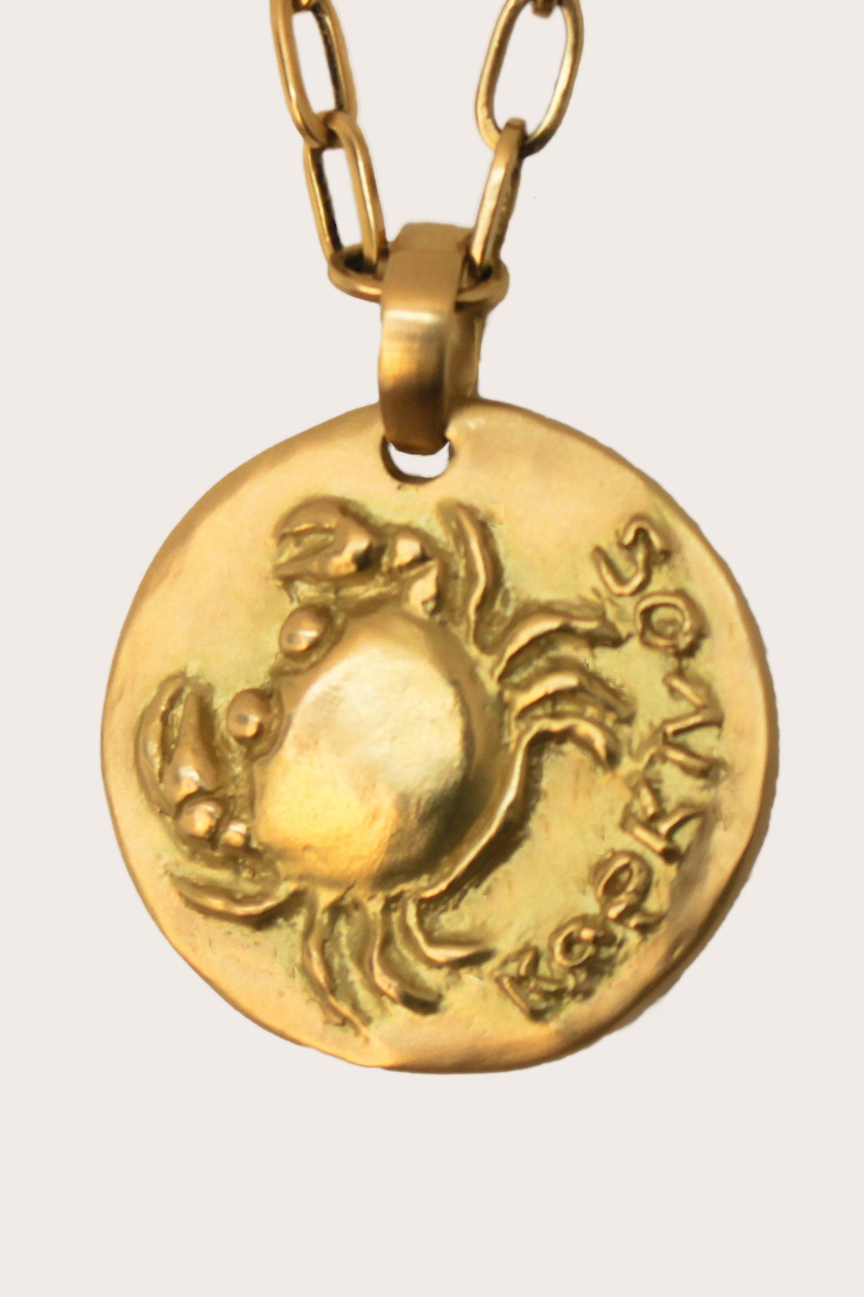 Carolina Wickenburg - Cancer Pendant, Gold