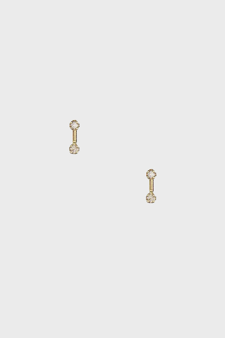 WWAKE - Dimple Bar Earrings