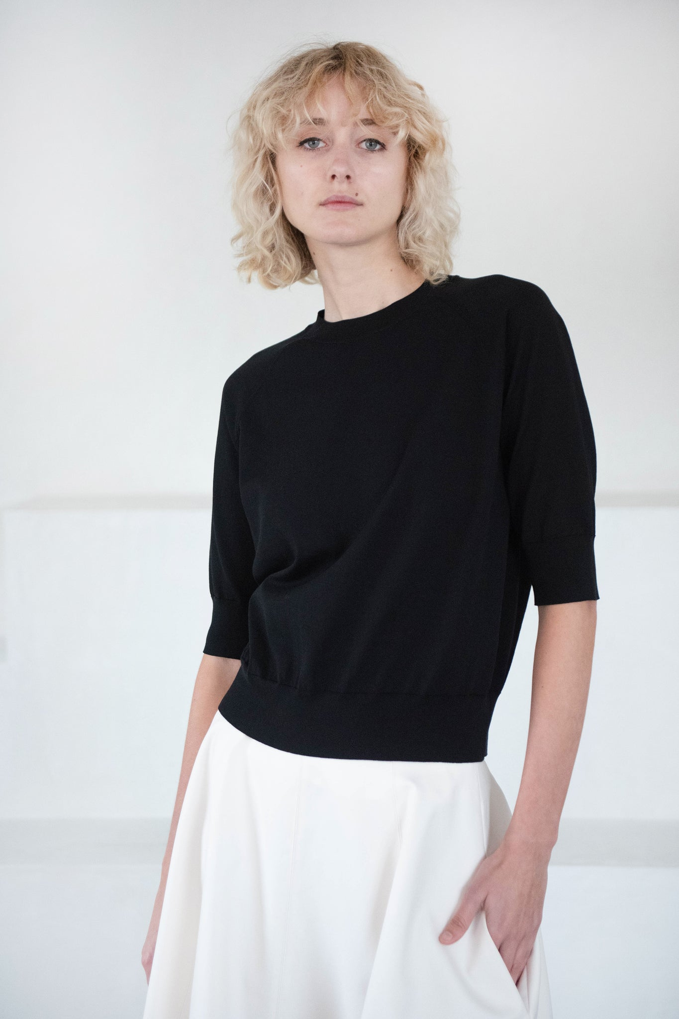 DRIES VAN NOTEN - nexus sweater, black
