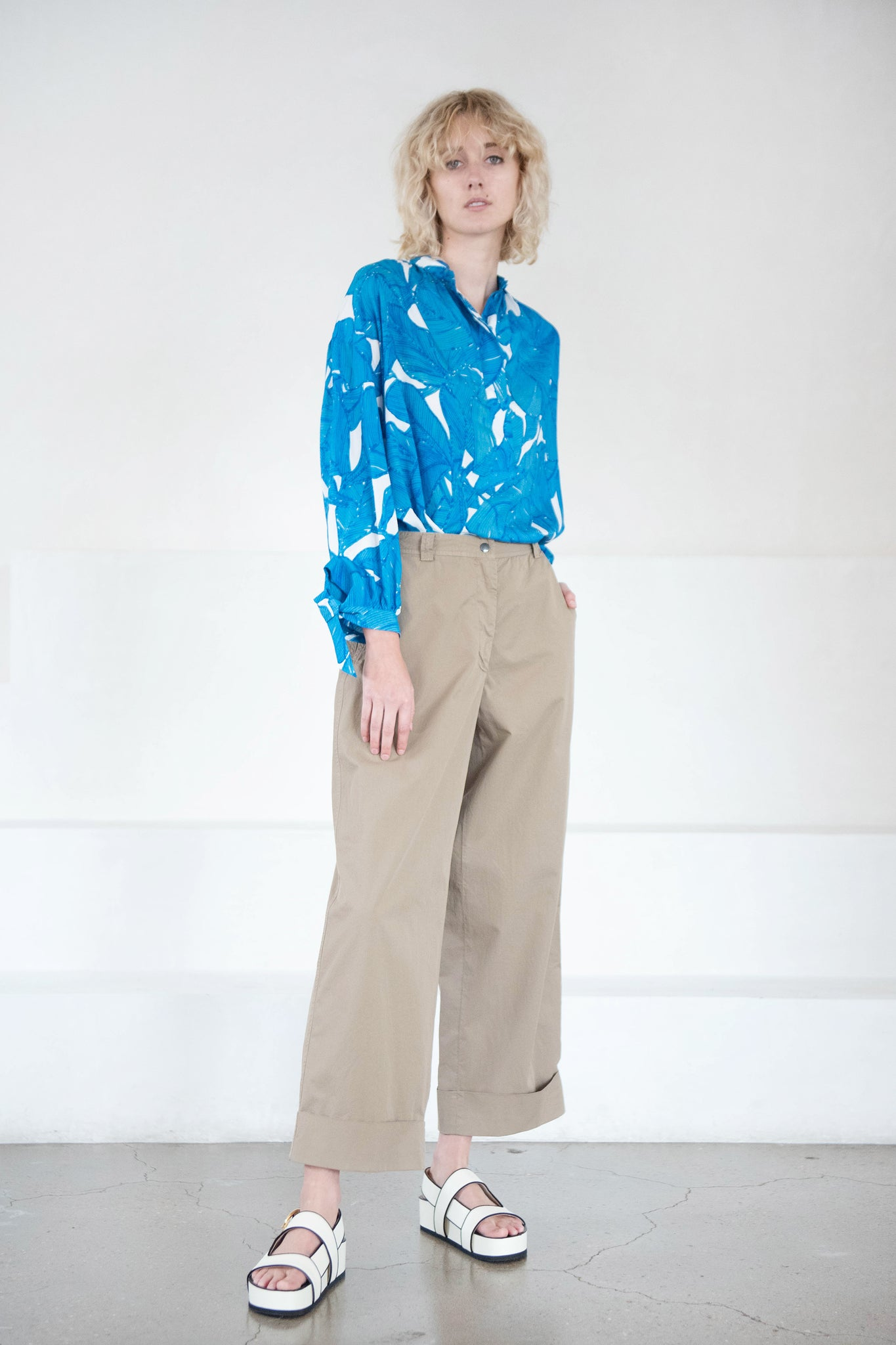 DRIES VAN NOTEN - PAKORA pant, sand