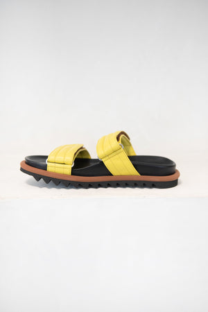 DRIES VAN NOTEN - slip-on sandal, lime