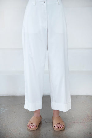 DRIES VAN NOTEN - PAKORA pants, off-white