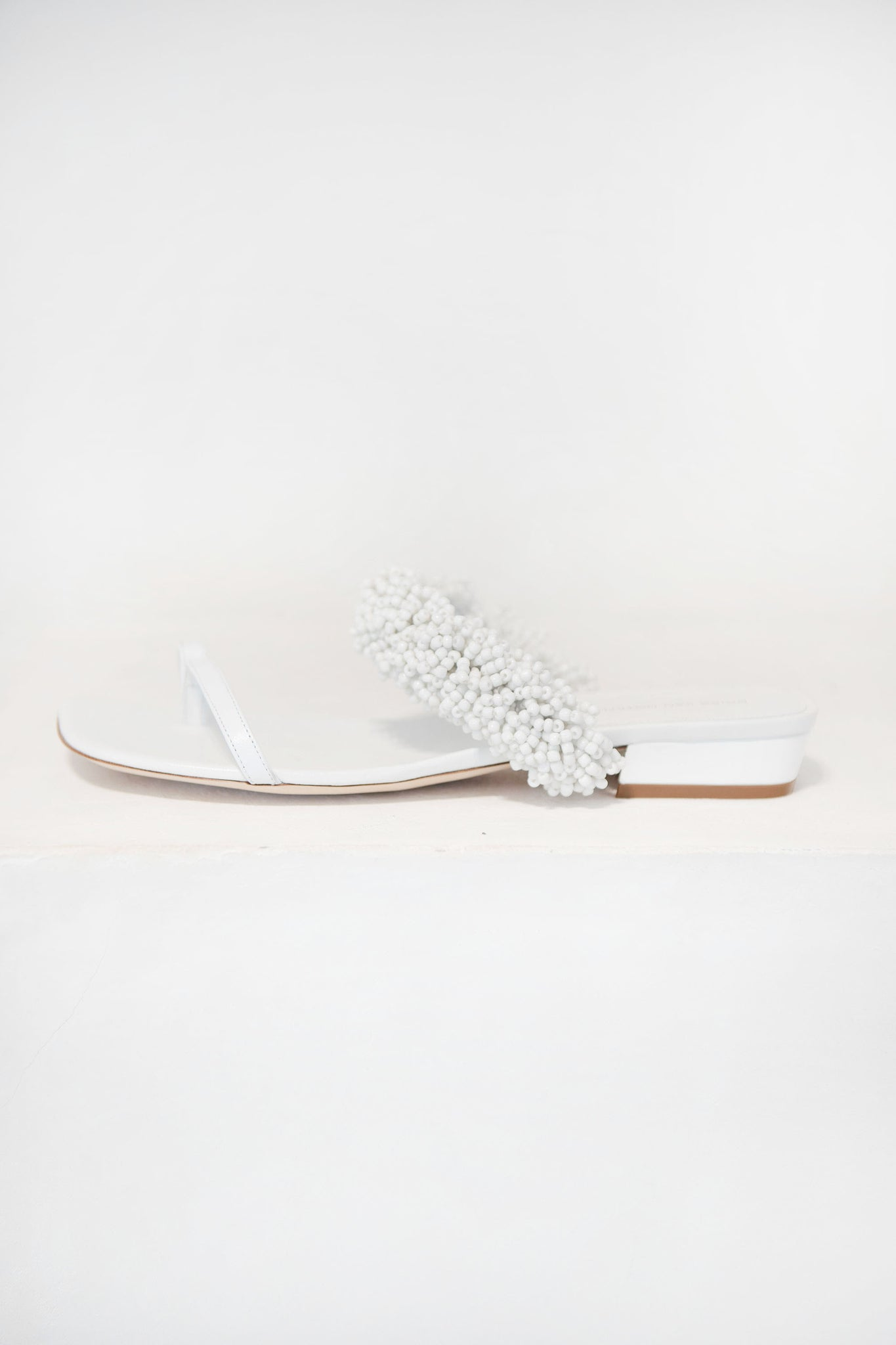 DRIES VAN NOTEN - sandal, white