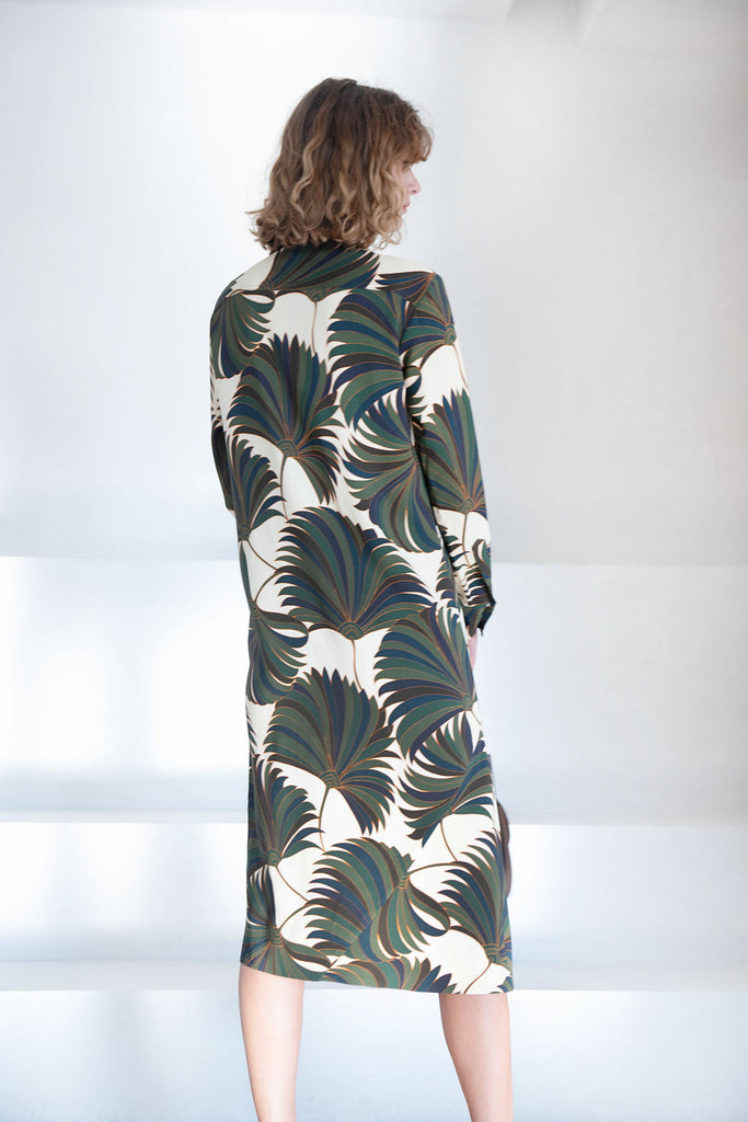 DRIES VAN NOTEN - DENIZ dress, bottle