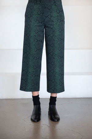 DRIES VAN NOTEN - POSKI pant, bottle