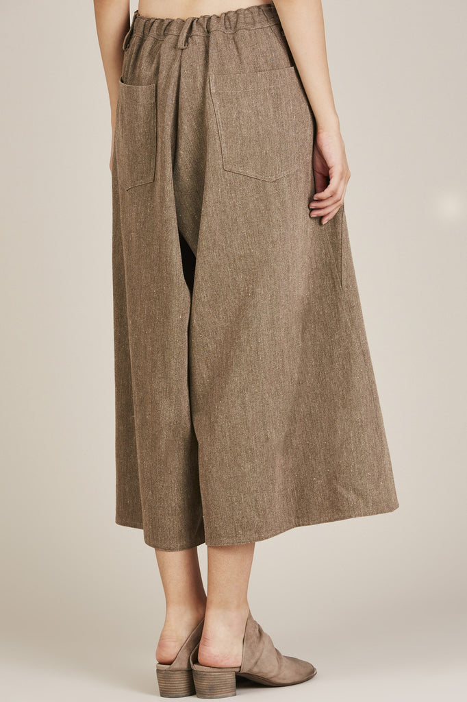 Loose Pants, Khaki - Dusan