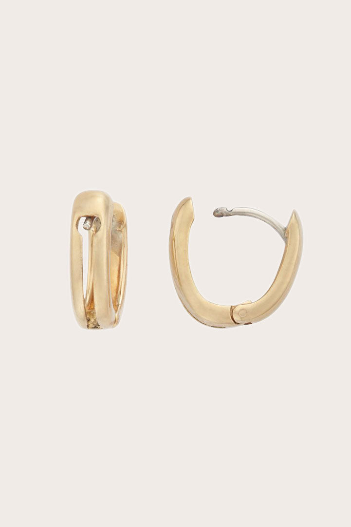 MARLA AARON - Earring Bases, Yellow Gold