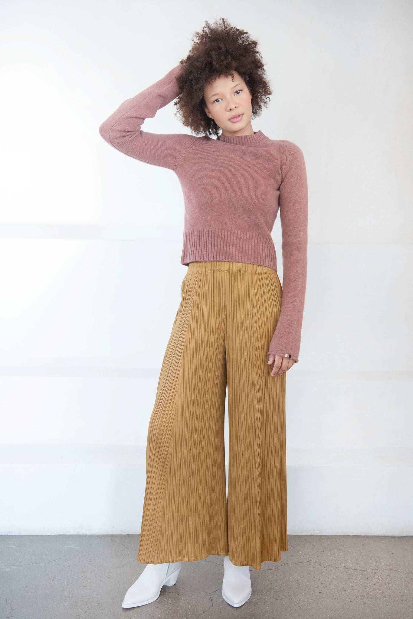 Extreme Cashmere - cherie sweater, terra
