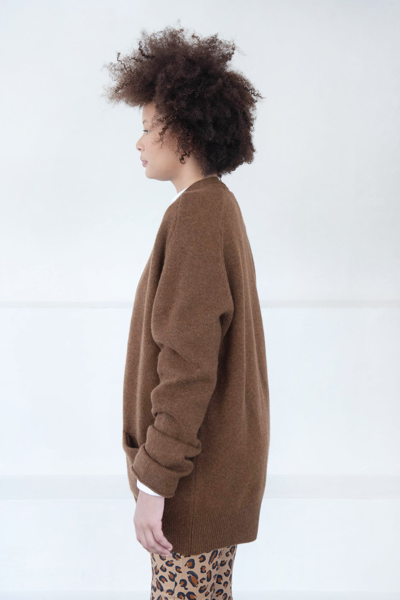 Extreme Cashmere - care cardigan, rust