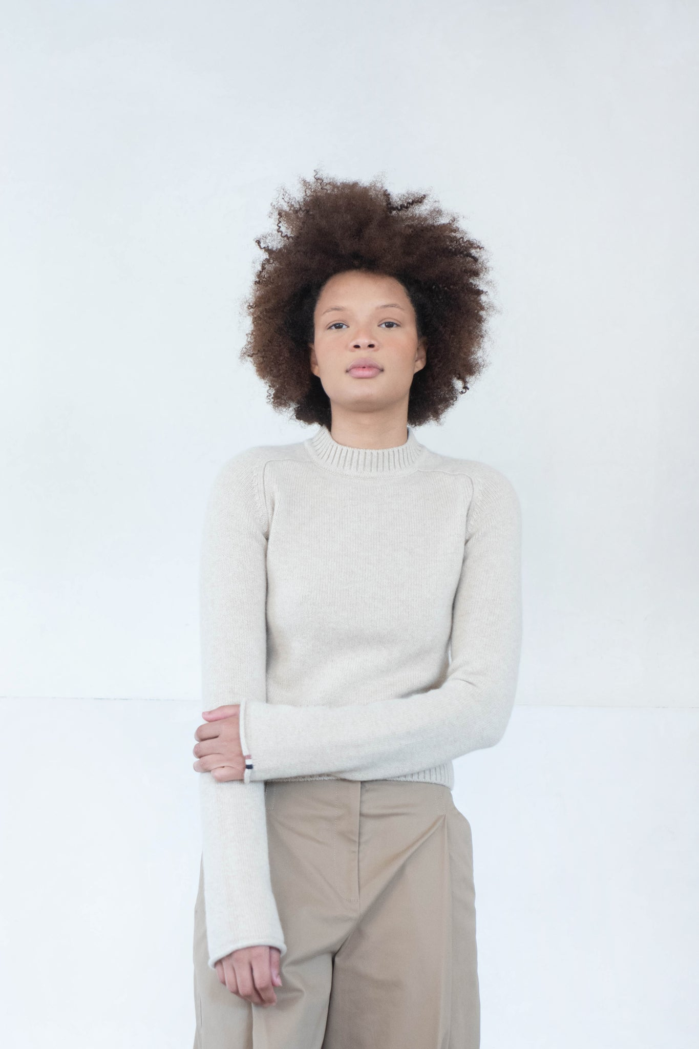 Extreme Cashmere - cherie sweater, latte