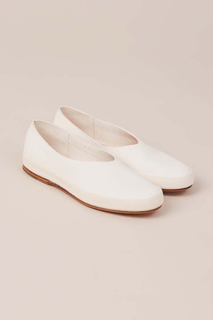 Hand Sewn Ballet Shoes, White