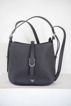 FONTANA MILANO - gallery bag, carbon