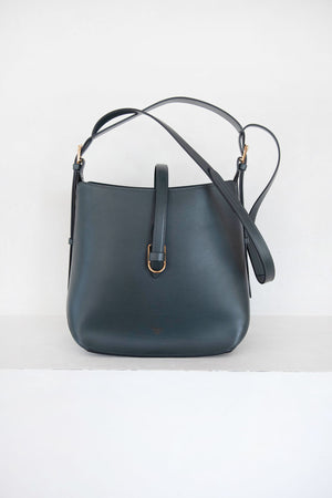 FONTANA MILANO - gallery crossbody bag, smoke