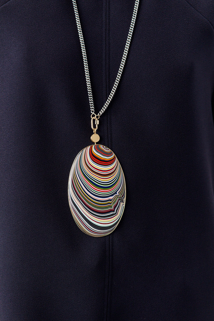 MARLA AARON - Large Fordite Disc