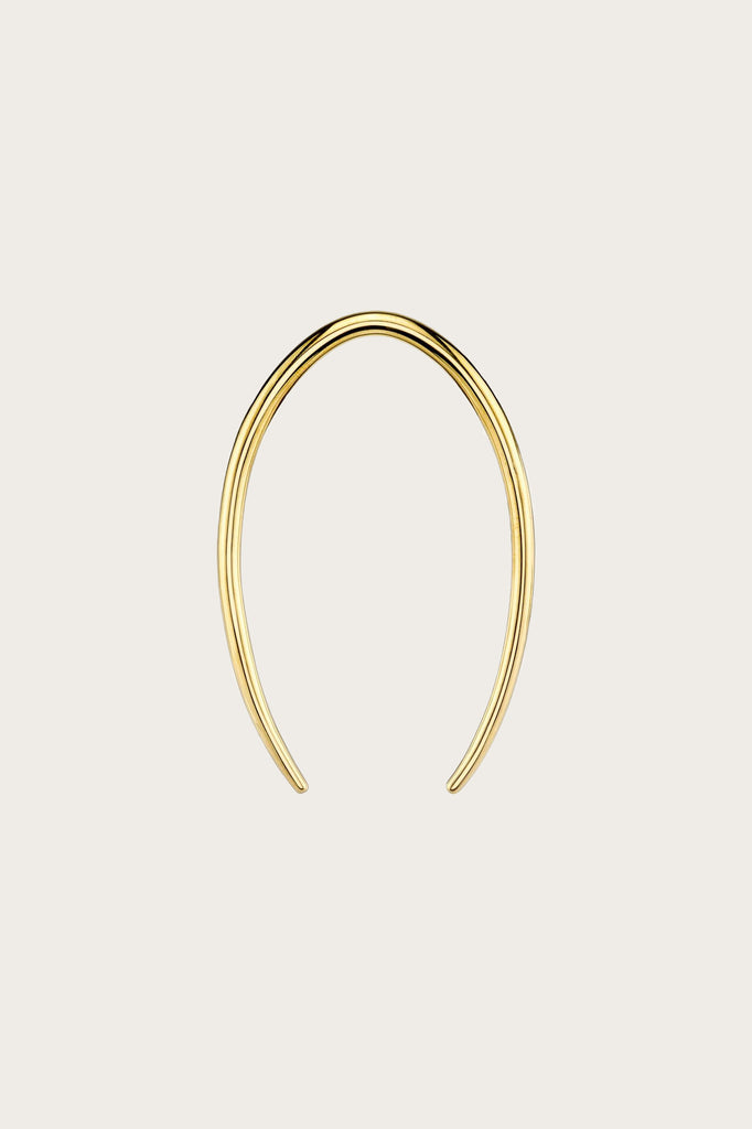 Gold Lunula Hair Pin