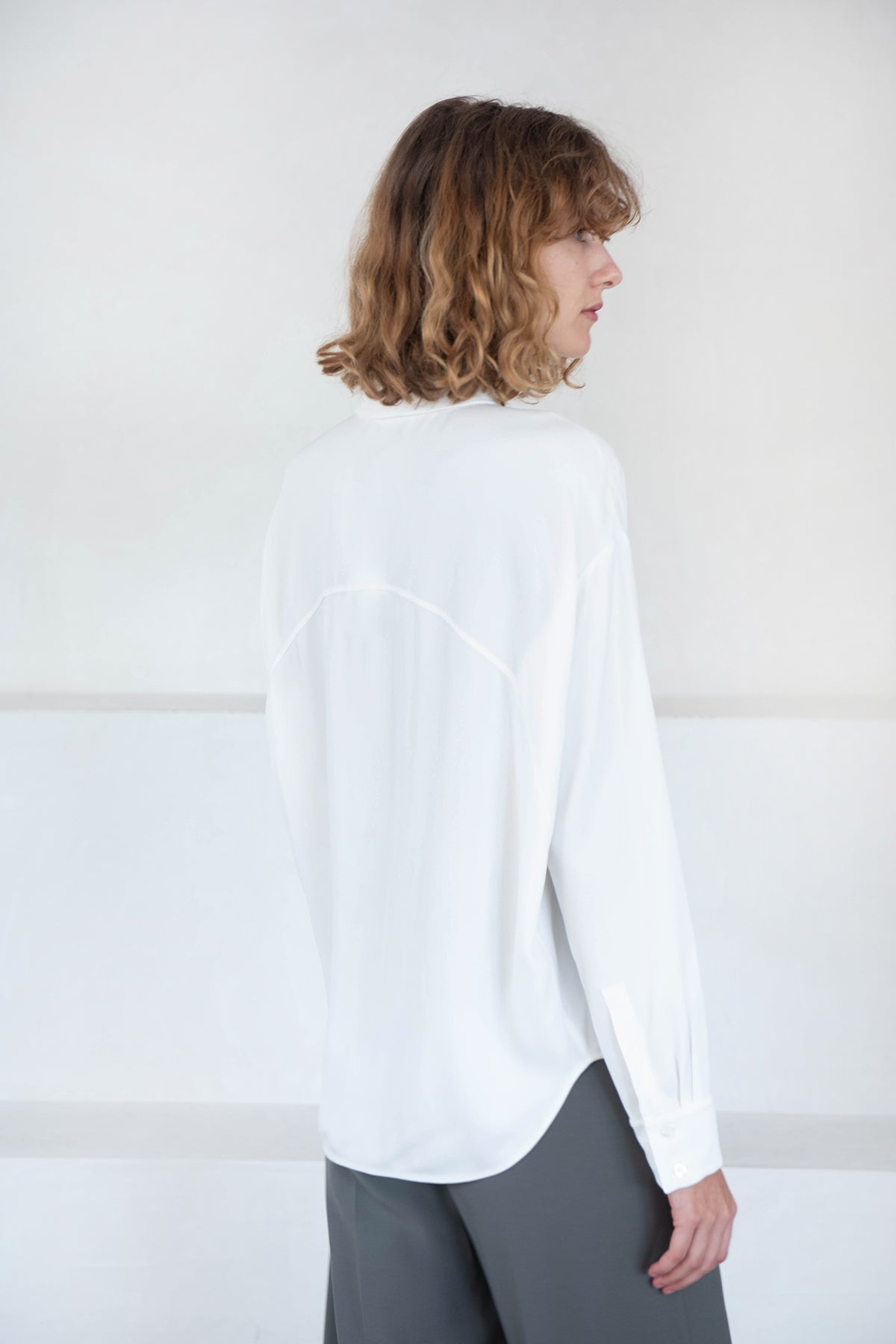 GAUCHERE - renelise top, off-white