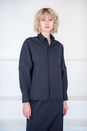 GAUCHERE - sirena shirt, black