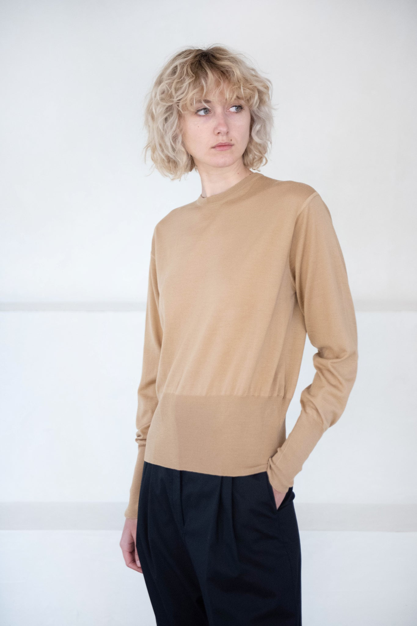 GAUCHERE - Sonita Knit Top, beige