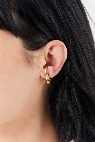 Rodeo Earring, Gold