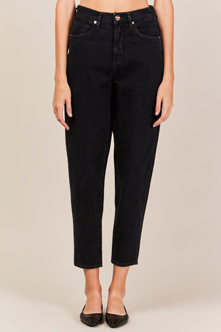 Balloon Jean, Marled Black