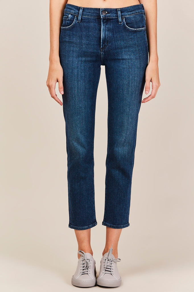 Medium Wash Semi-Fit Rise Slim, Jubilee