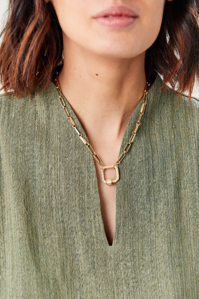 Meander chain, GOLD