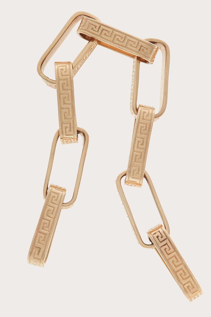 Marla Aaron - greek key bracelet, GOLD
