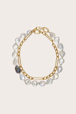 Harbor Necklace, Pearl