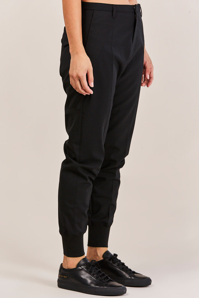 Hope - Cuff Krissy Trouser, Black - Pants