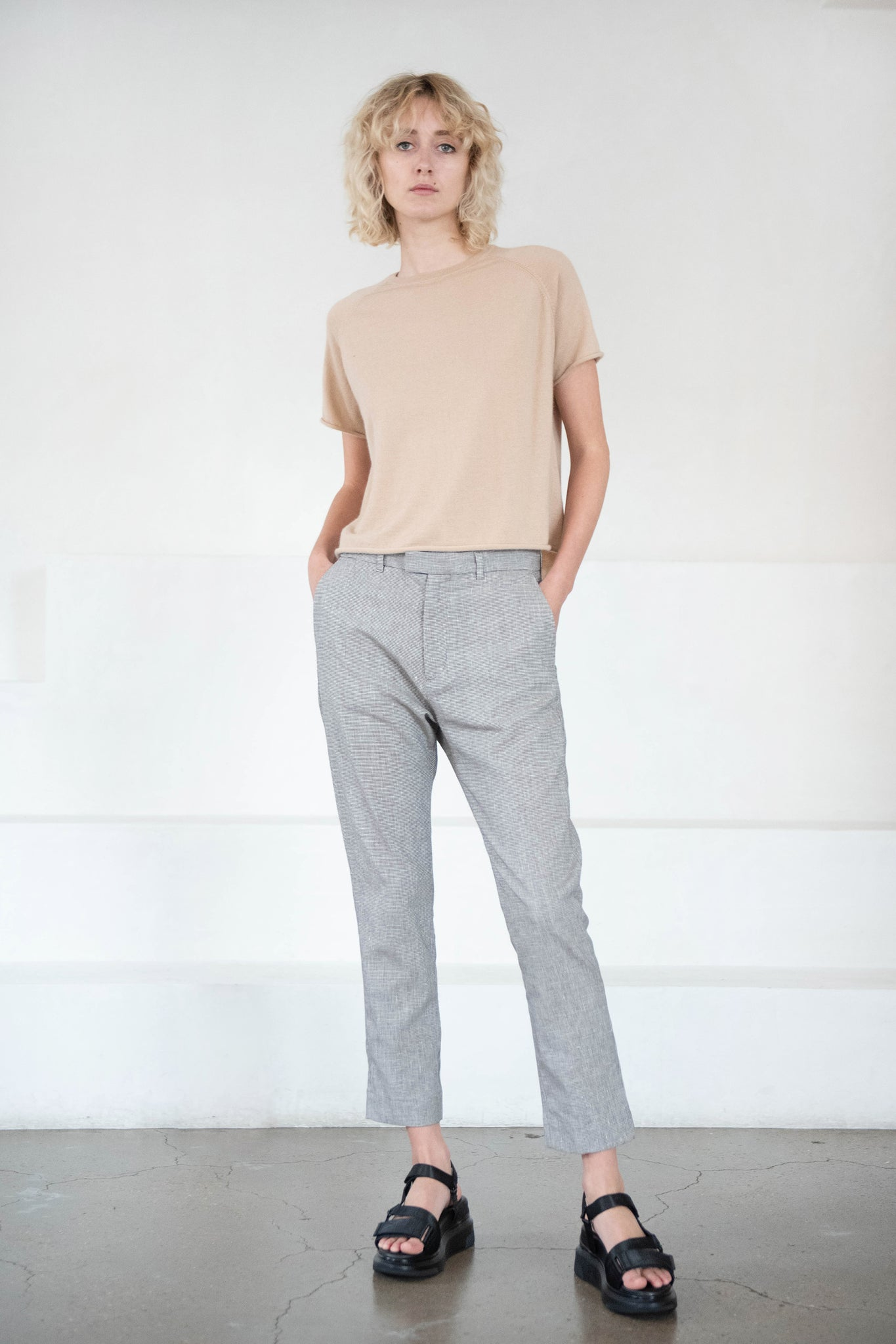 Hope - KRISSY edit trousers, brown