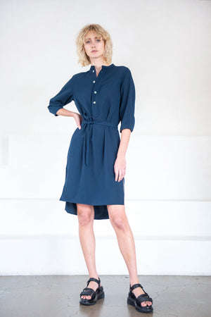 Hope - flex dress, dark navy