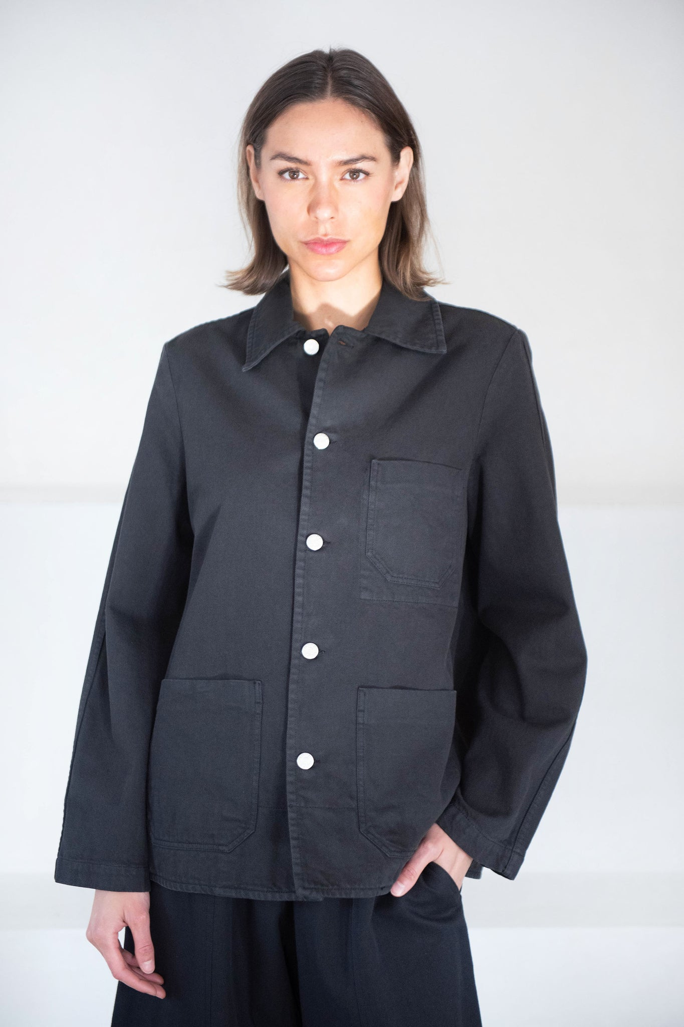 Hope - worker jacket, black