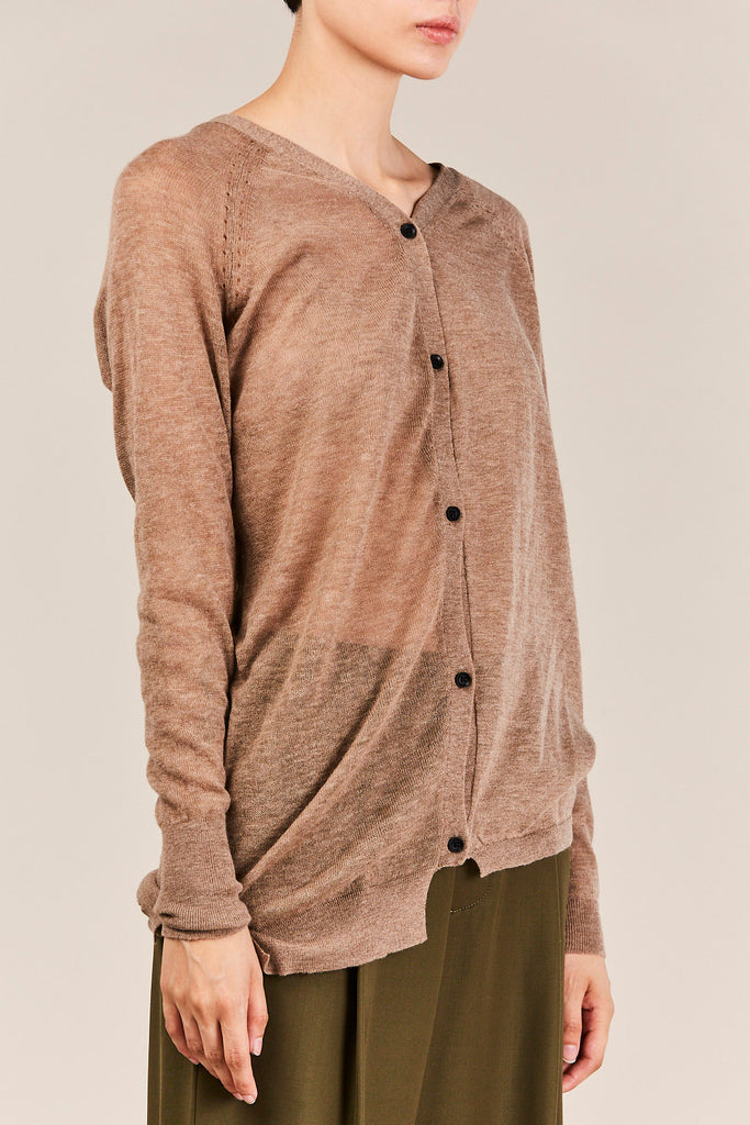 Humanoid - Honor Reversible Cardigan, Oat
