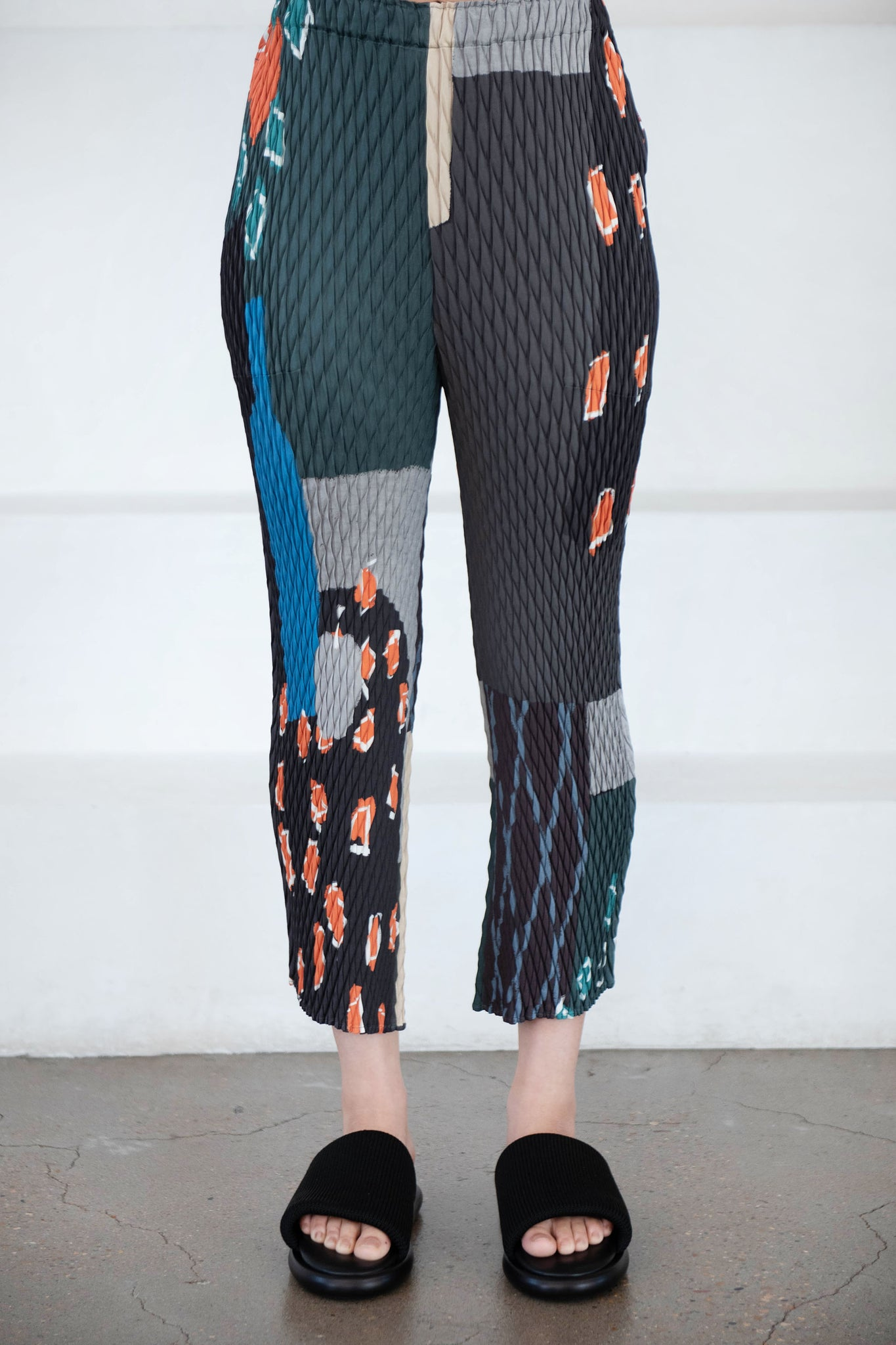 Issey Miyake - temporary room pants, brown