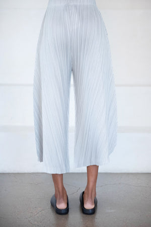 Pleats Please by Issey Miyake - thicker bottoms 1, grey