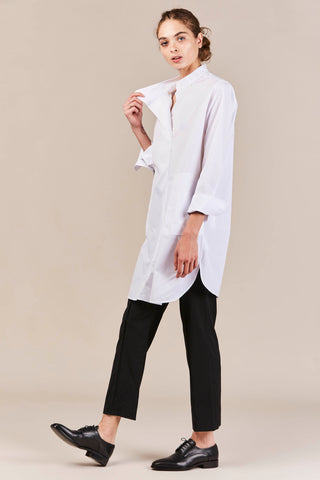 Esther Tunic Top, White