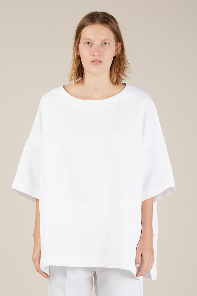 S/S Blouse, White